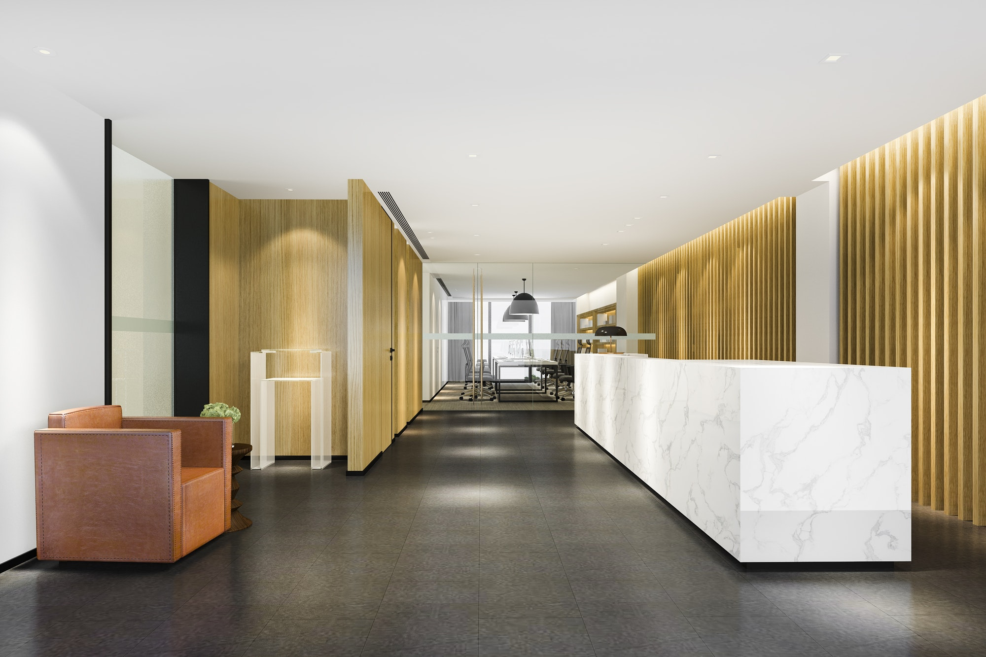 Proyectos Reformas Albacete moderno hotel de lujo y recepción de oficina